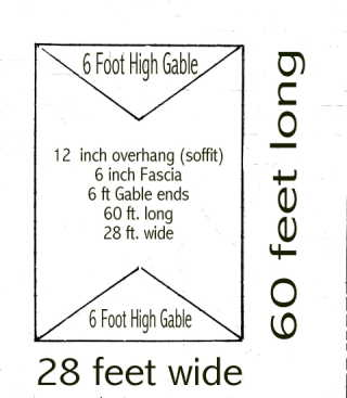 How To Measure A House For Siding Measure Gables Walls